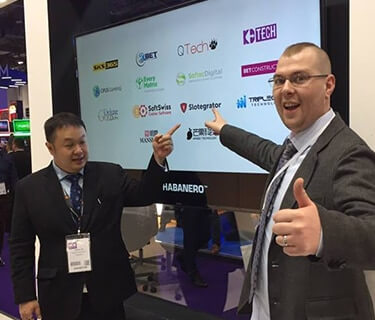Slotegrator and Habanero at ICE 2017