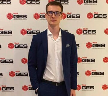 Vadim Potapenko at World GES 2017 in Barcelona