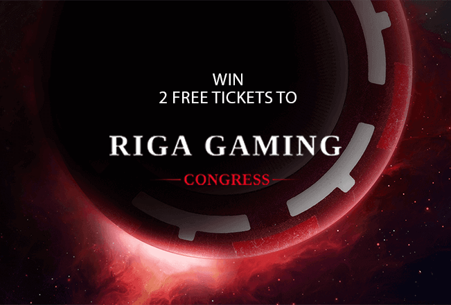 Competition for 2 free tickets to Riga Gaming Congress