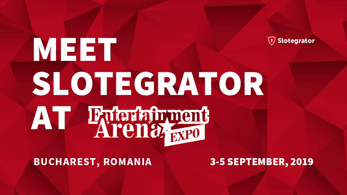 Meet Slotegrator at Entertainment Arena Expo