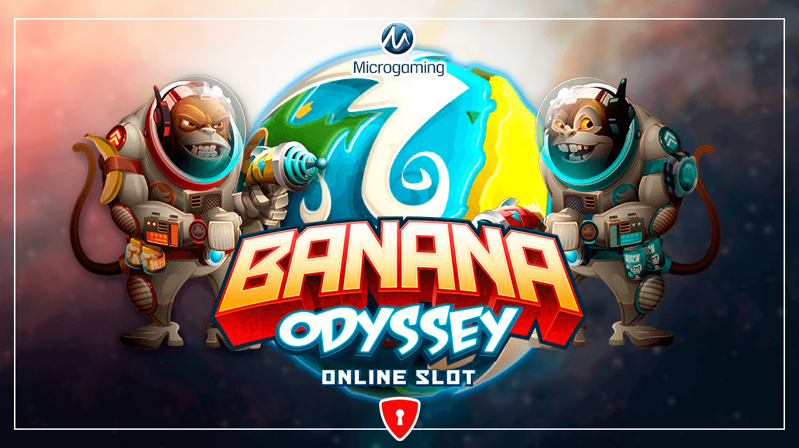 Astrochimps Vie to Dominate Banana Planet in Microgaming's New Slot, Banana Odyssey
