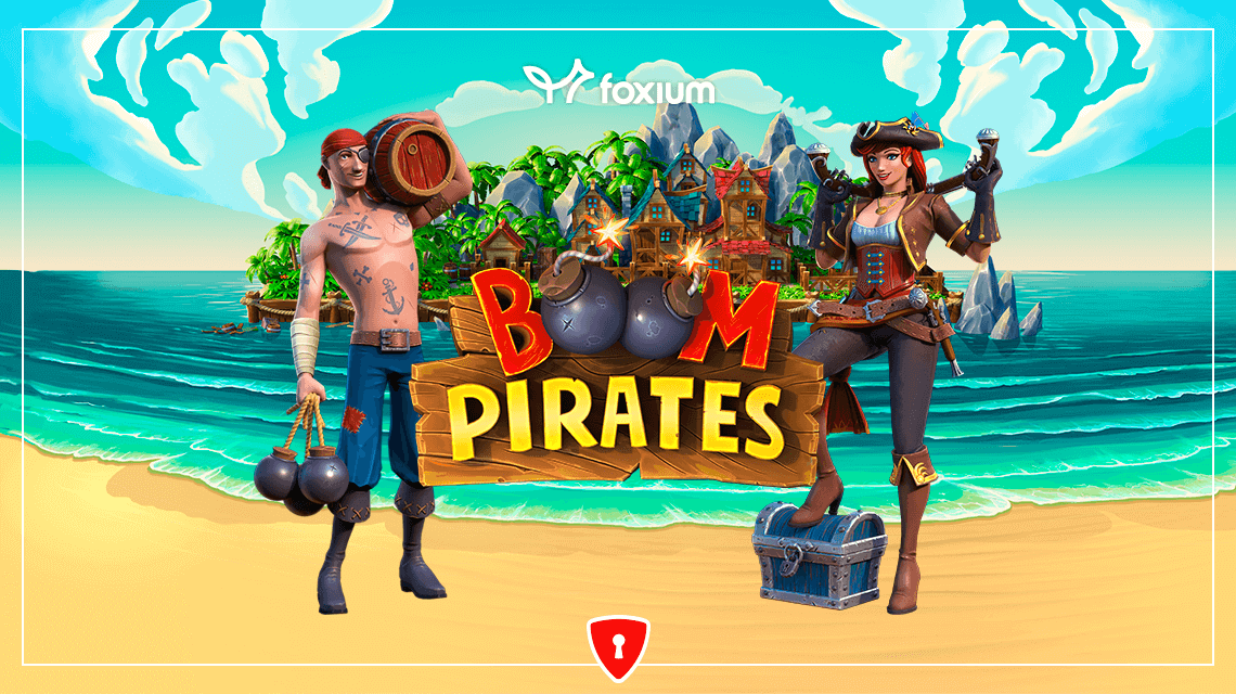 High Explosives Hit the High Seas in Foxium's New Slot, Boom Pirates