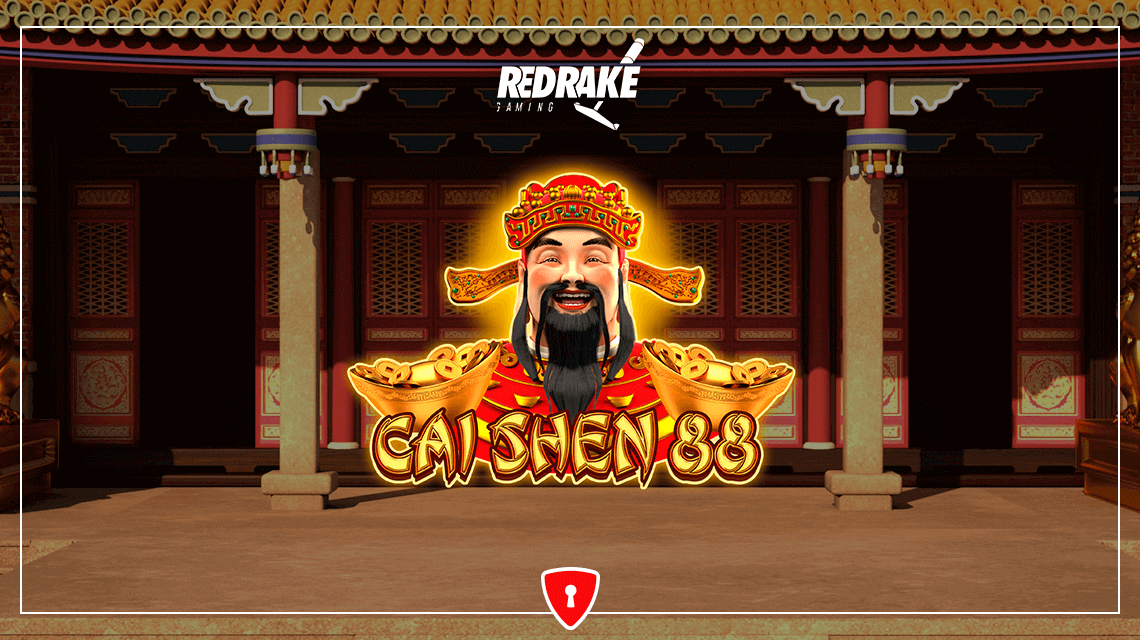 Players Will Worship the God of Wealth in Cai Shen 88 from RedRake Gaming