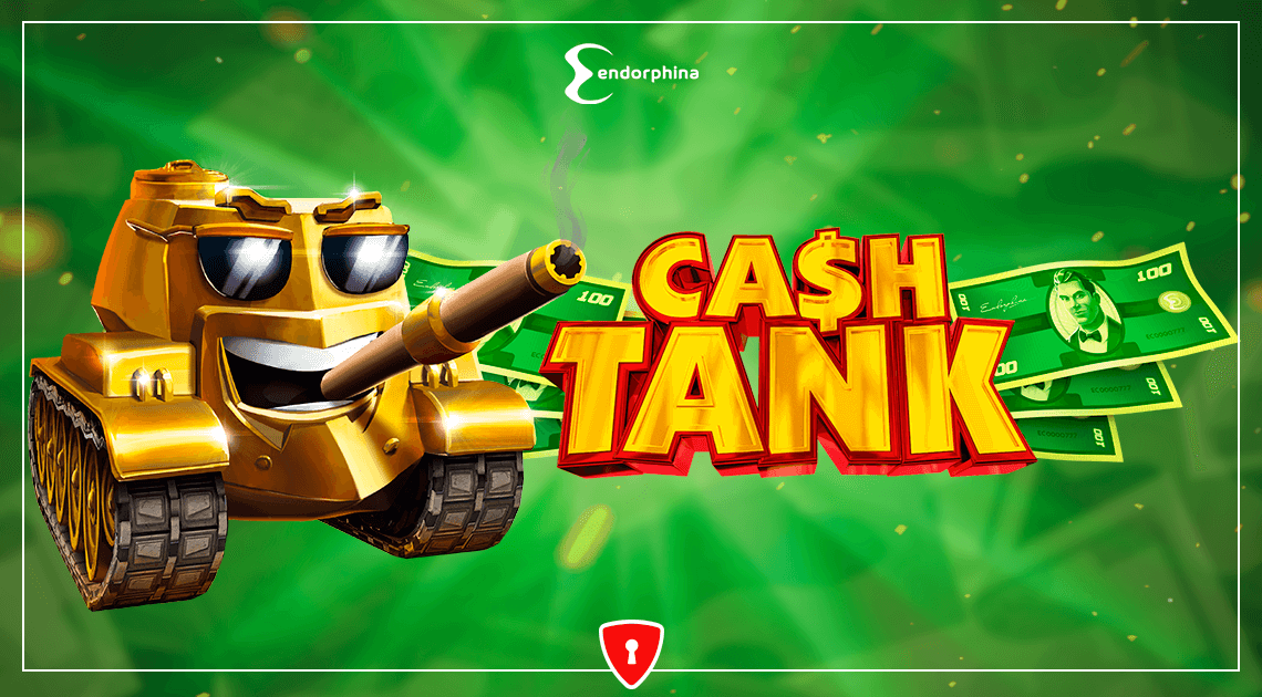 Cash Tank - new video slot from Endorphina