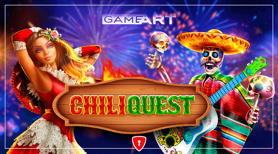 Players Will See How Much Spice They Can Handle in GameArt's New Slot, Chili Quest