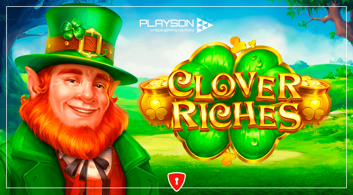 Players Will Find the End of the Rainbow in Playson's New Slot, Clover Riches