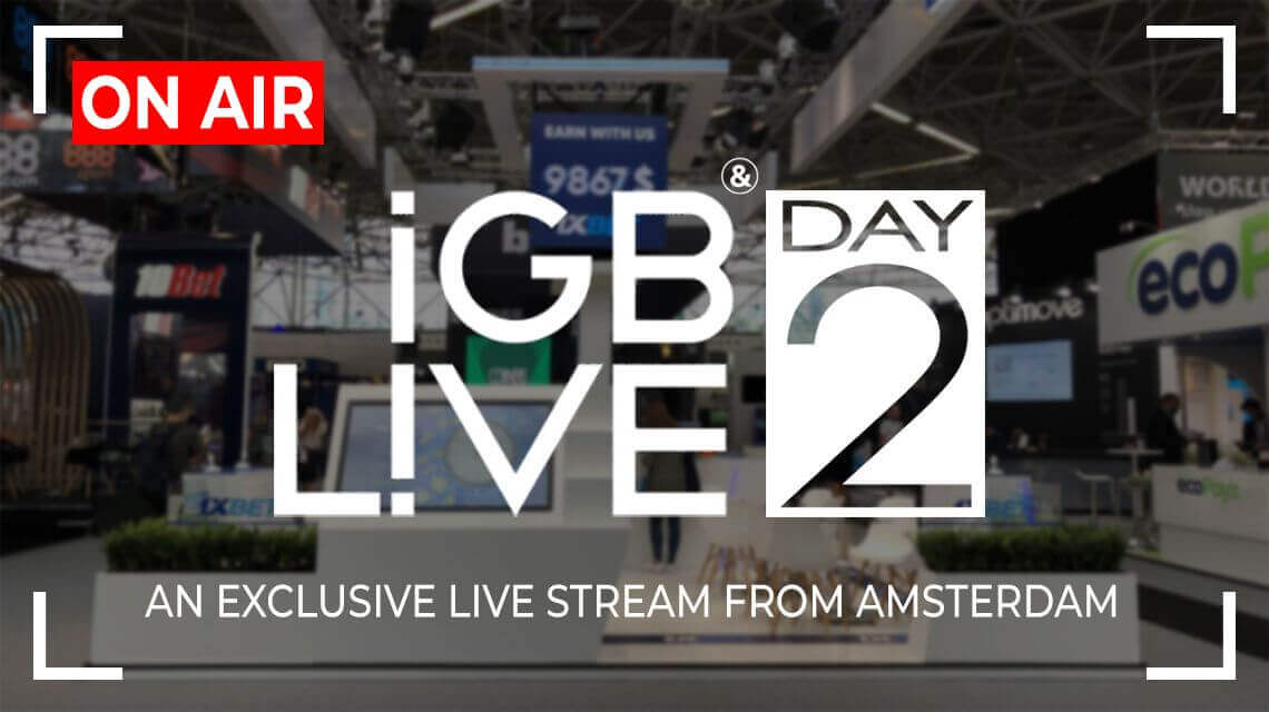 iGB Live 2018: Online Stream (Day Two)
