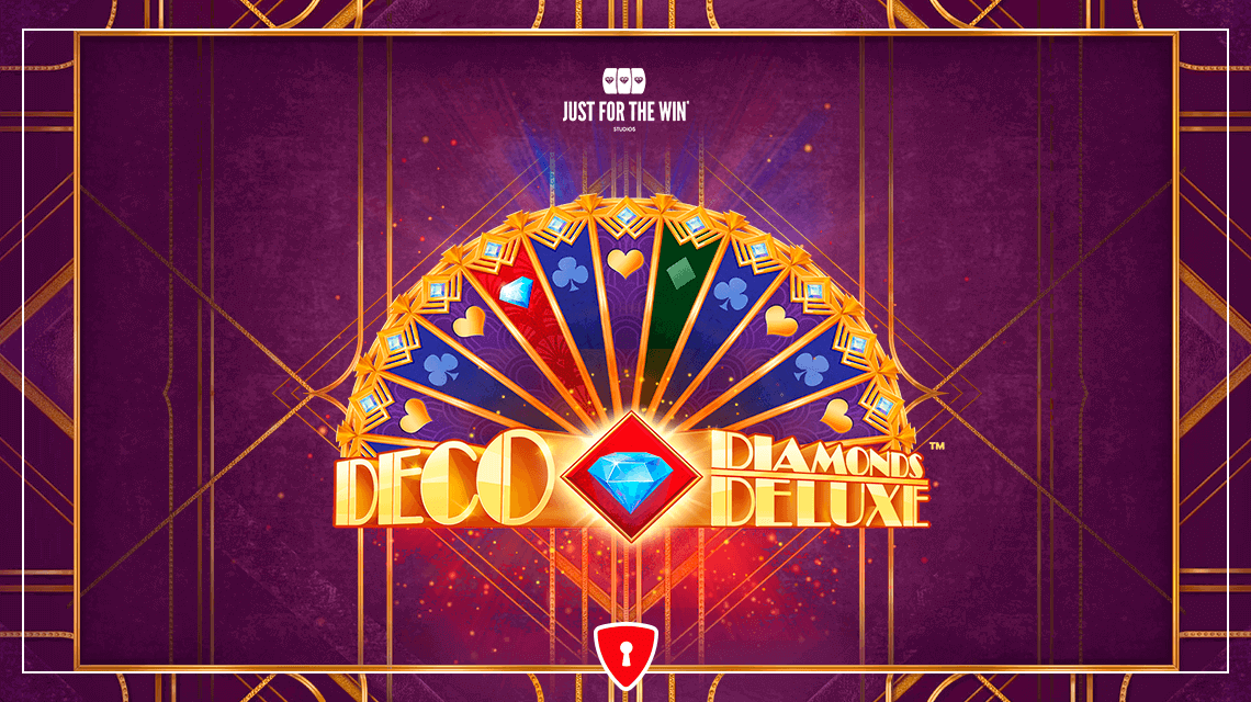 Players Will Take a Trip Back to the Roaring Twenties in Just for the Win's New Slot, Deco Diamonds Deluxe
