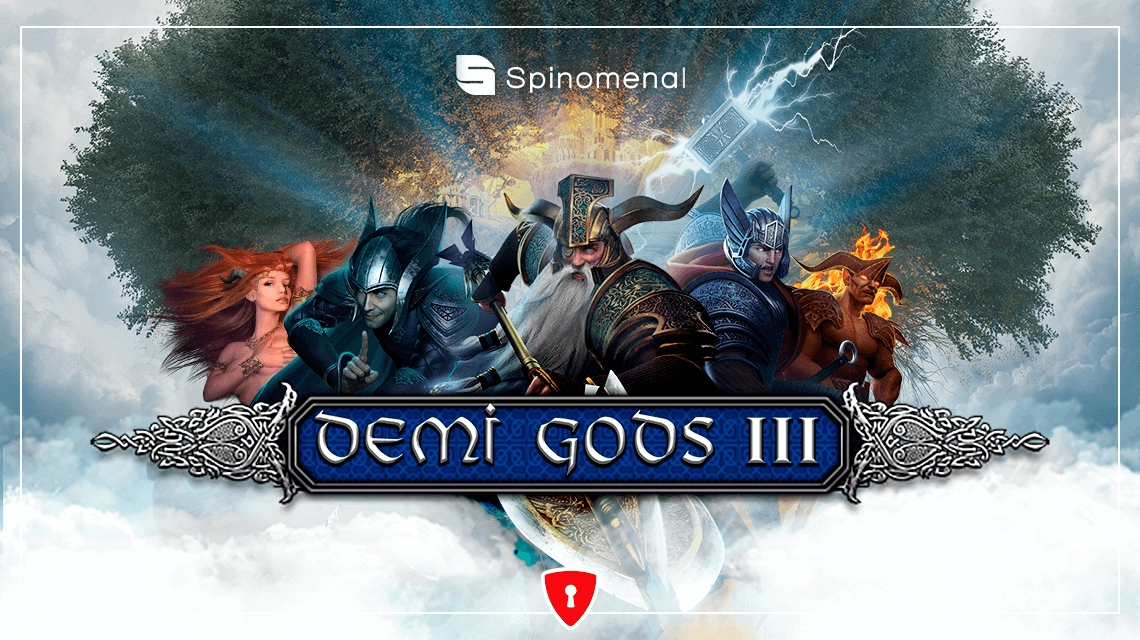 Players Are in for a Mythic Quest in Spinomenal's New Slot, Demi-Gods III
