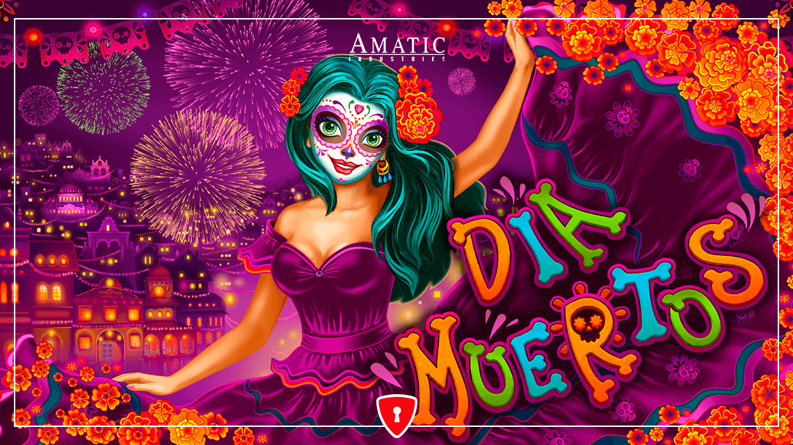 Players Will Honor The Dead in Amatic's New Slot, Dia Muertos