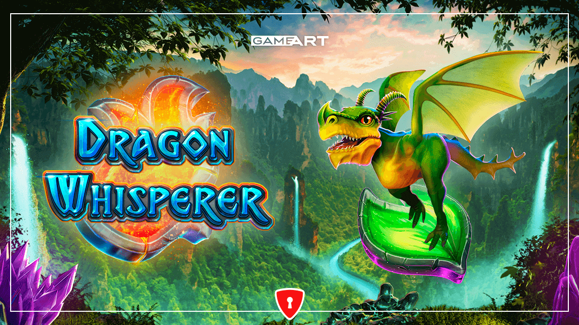 Players Will Learn the Secrets of Dragon Taming in GameArt's New Slot, Dragon Whisperer