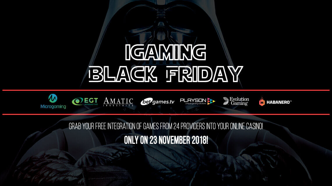 iGaming Black Friday: Slotegrator Launches a Black Shopping Day Promotion