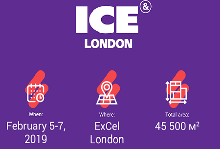 Interesting facts about ICE London 2019