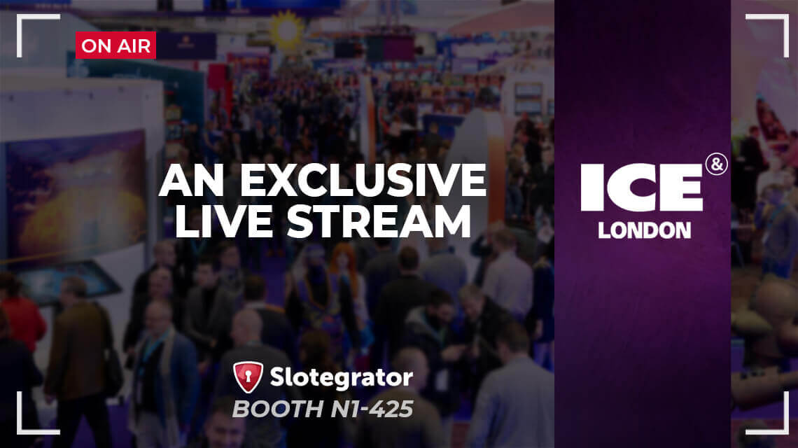 Don't miss! Live broadcast from ICE London 2019 by Slotegrator