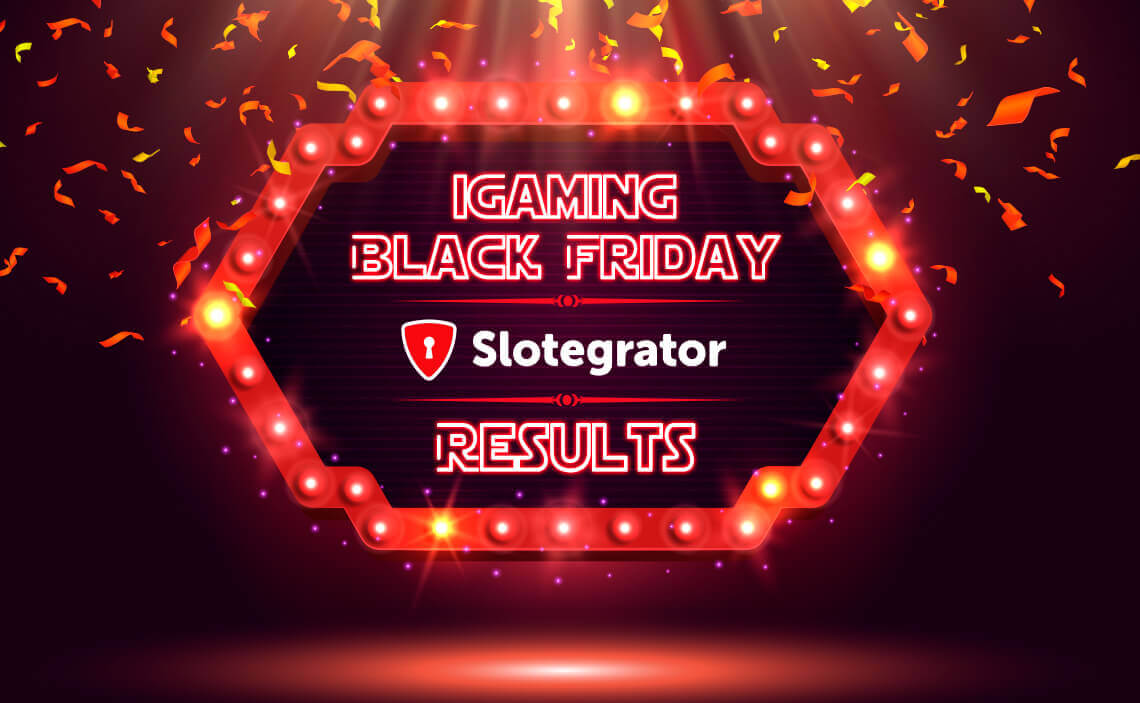 We Got a Winner! View Results of iGaming Black Friday