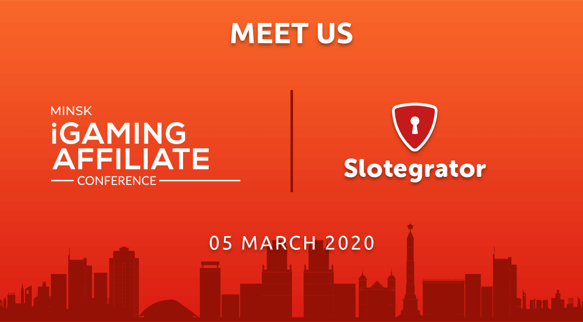 Slotegrator at  Minsk iGaming Affiliate Conference 2020
