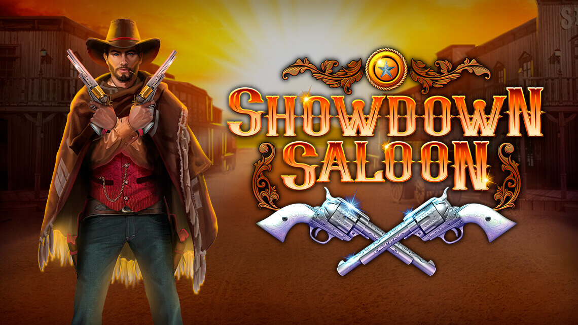 Joint Video Slot Showdown Saloon by Microgaming and Fortune Factory