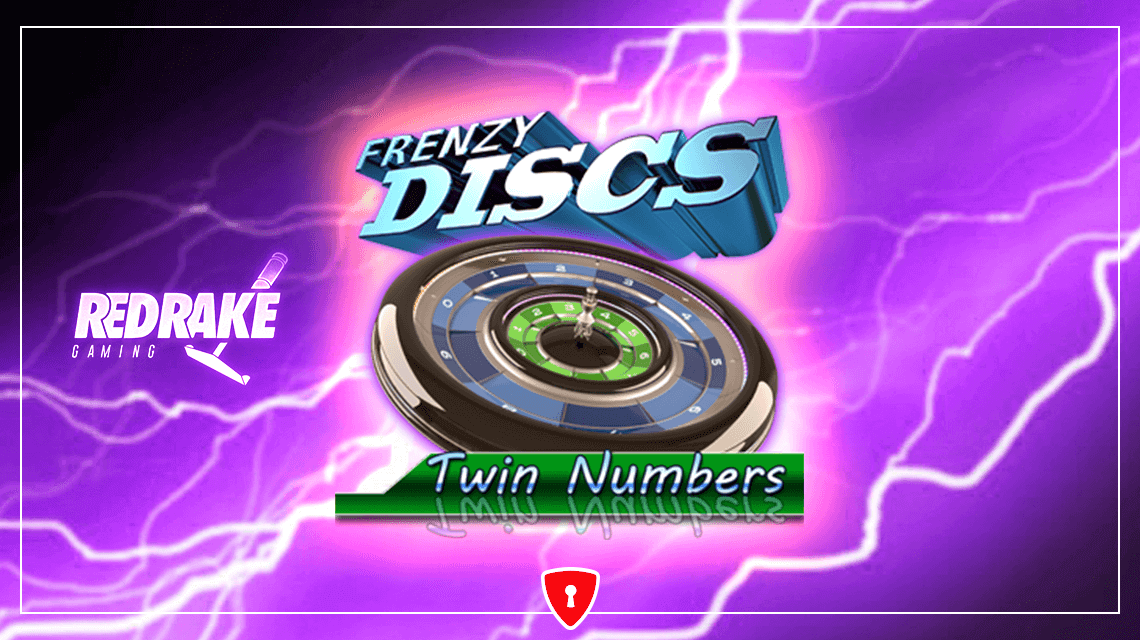 Try Your Luck in the New Game Frenzy Discs: Twin Numbers from RedRake