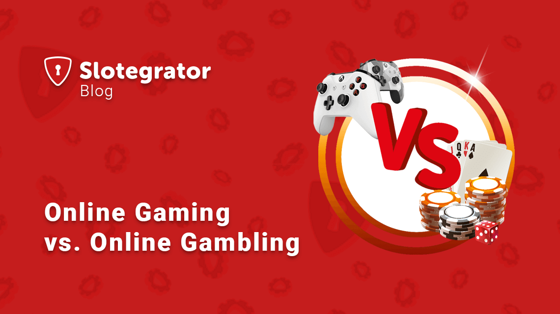 Online Gaming vs. Online Gambling: Differences and Overlaps