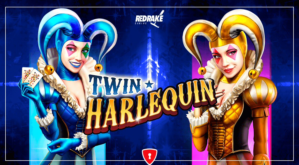 New Game From Red Rake Gaming: Twin Harlequin