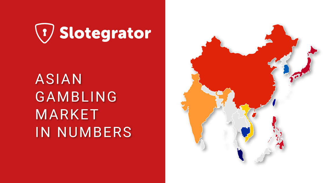 Asian Gambling Market in Numbers