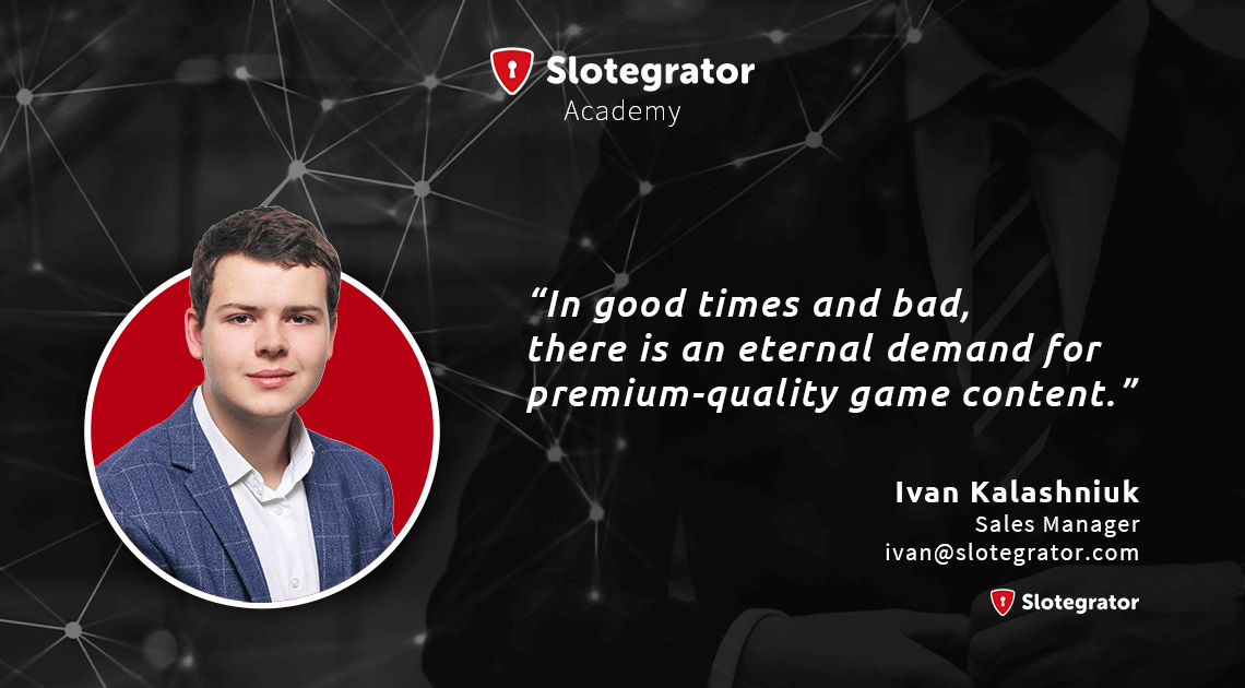 GamblersPick - an interview with Slotegrator Sales Manager - Ivan Kalashniuk