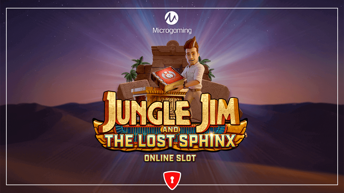 Jungle Jim is Back for an Egyptian Adventure in Microgaming's New Slot, Jungle Jim and the Lost Sphinx