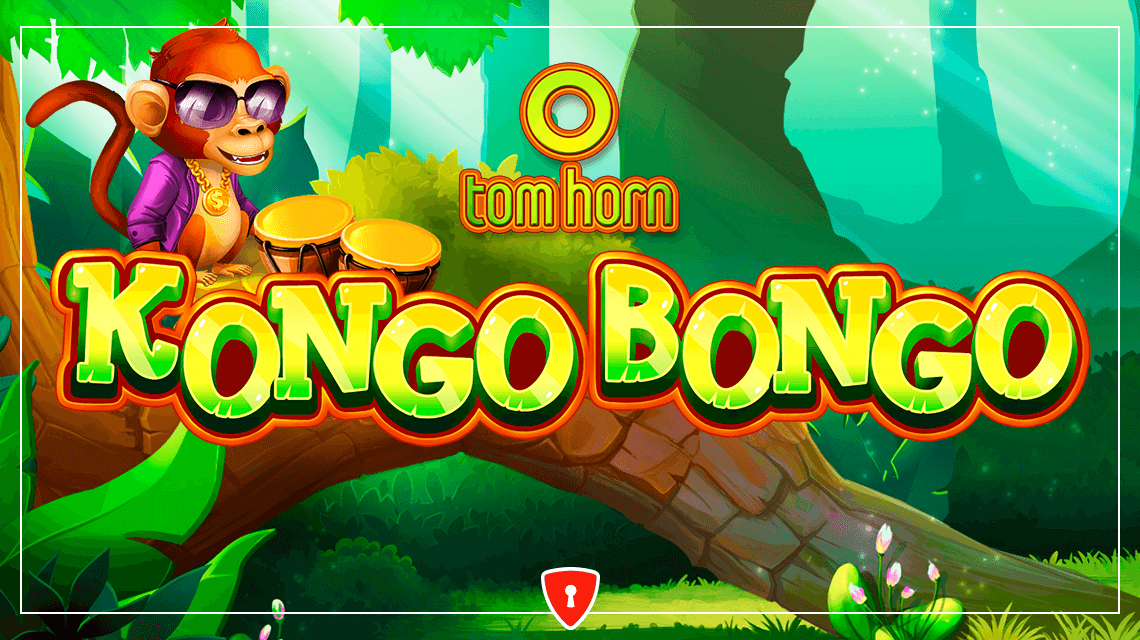 Kongo Bongo Slot from Tom Horn Reveals the Jungle's Treasures