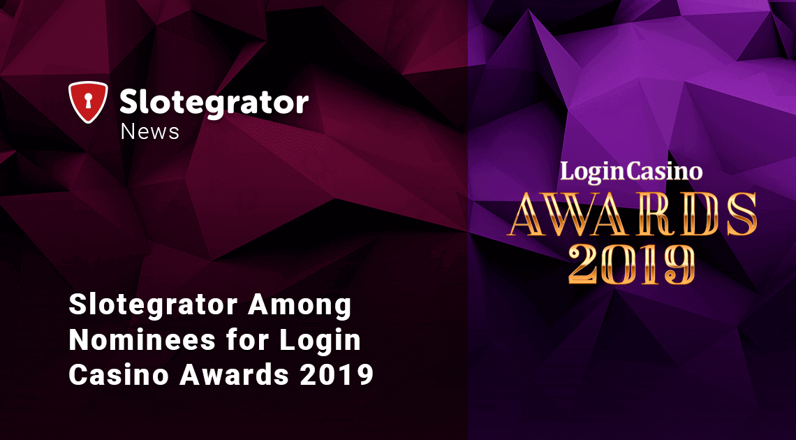 Login Casino Awards 2019: Slotegrator Nominated
