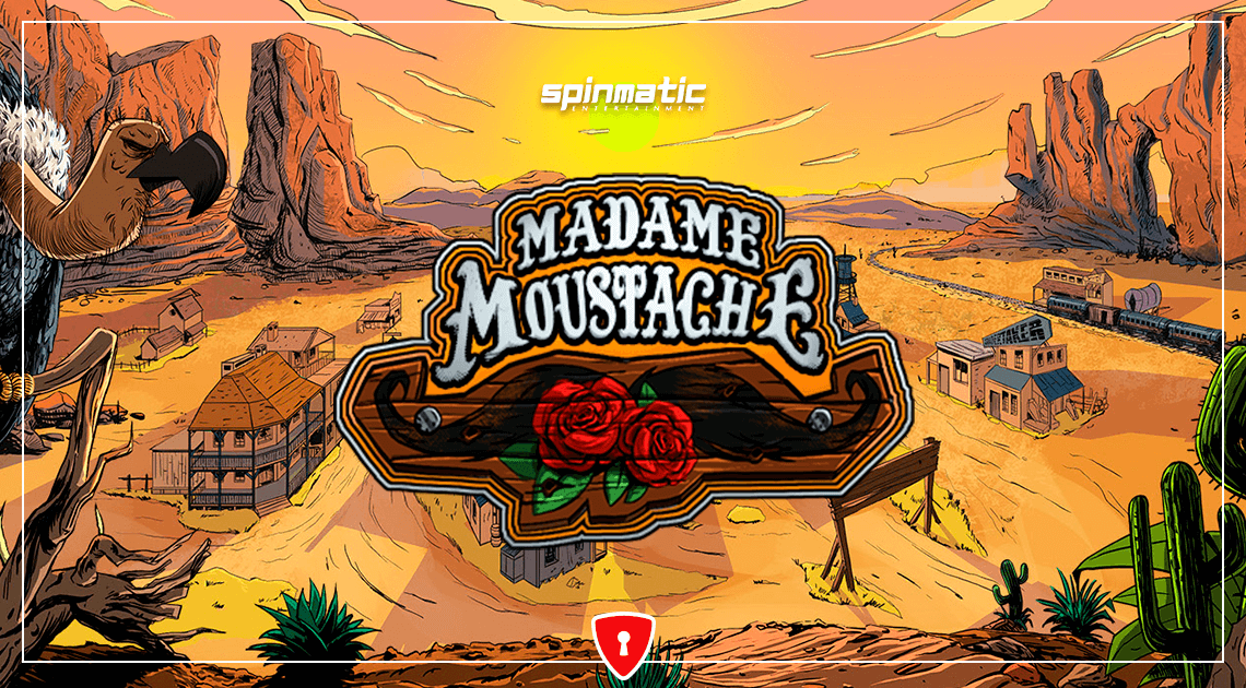 Spinmatic's New Western Slot is Madame Moustache
