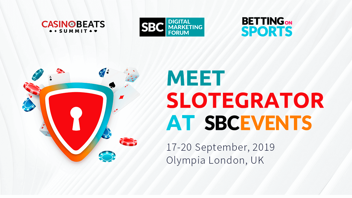 Meet Slotegrator at SBC Events