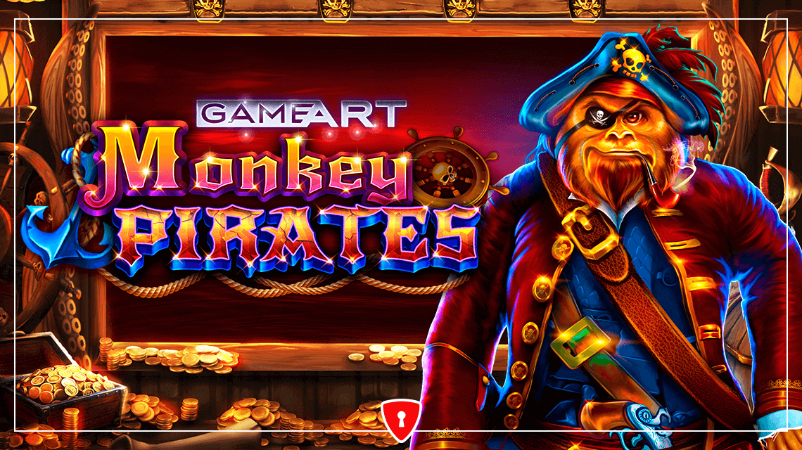Monkey Pirates Go on a Treasure Hunt in the New Slot from GameArt