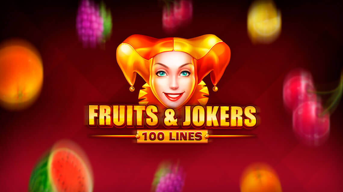 Fruits and Jokers: 100 Lines – новая игра от провайдера Playson