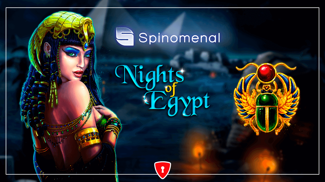 Spinomenal Uncovers the Mystical Atmosphere of Nights of Egypt