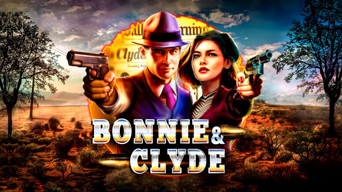 RedRake revitalizes infamous criminals love story in the latest Bonnie&Clyde video slot