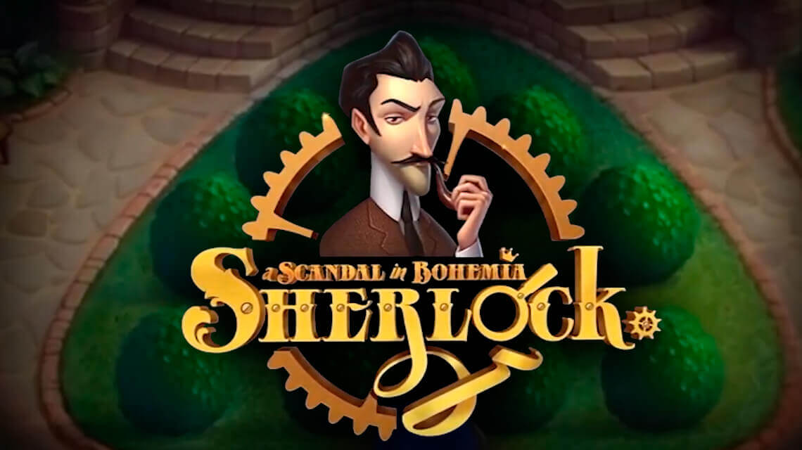 Gamblers will love Holmes styles slot: A Scandal in Bohemia by Tom Horn