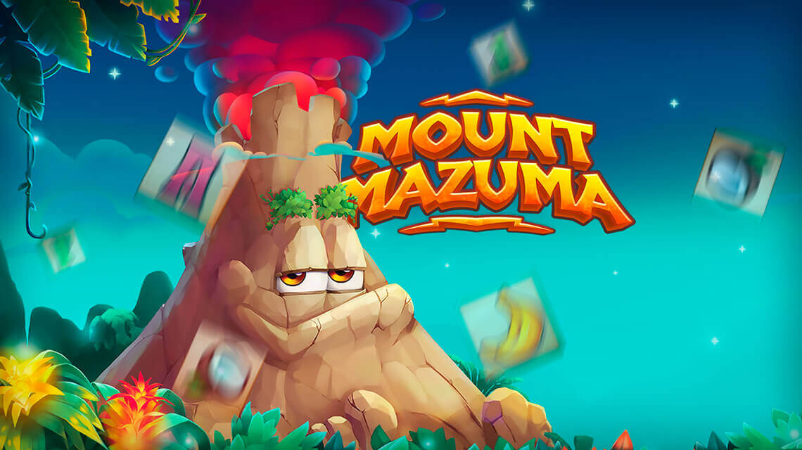 With 243 betways players will enjoy new Habanero's  tropical video slot Mount Mazuma