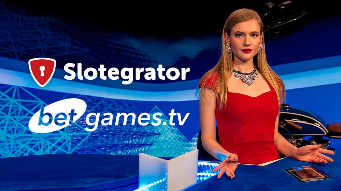 Betgames.tv - New Slotegrator's Partner