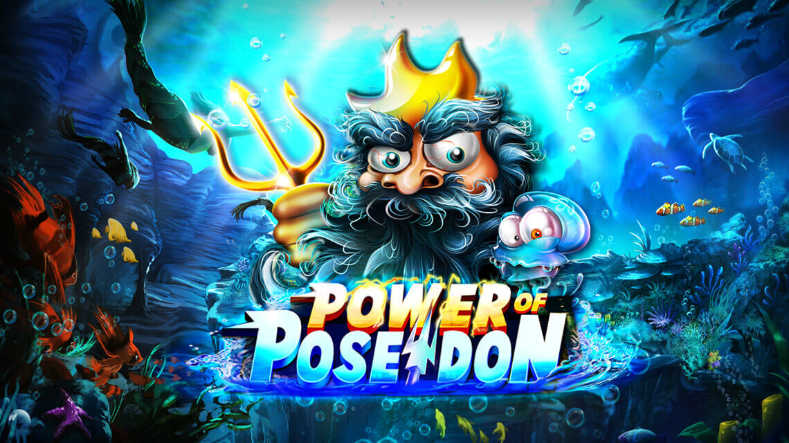 Feel the Underwater Power of Poseidon in Video Slot by Platipus Gaming