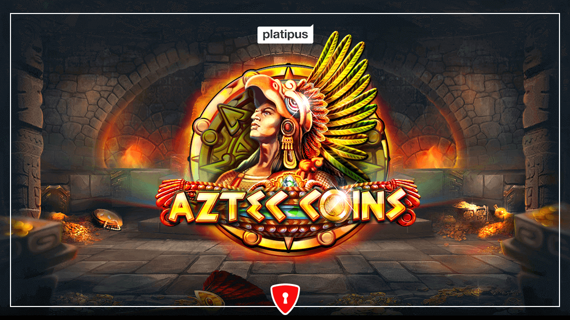 Players Will Win an Ancient Civilization's Treasure in Aztec Coins, the New Slot From Platipus