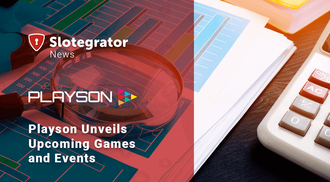 Playson Unveils Upcoming Games and Events