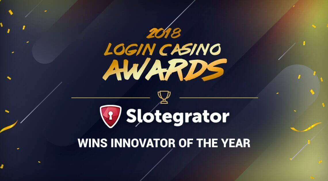 Slotegrator wins Login Casino Awards nomination for Innovator of the Year