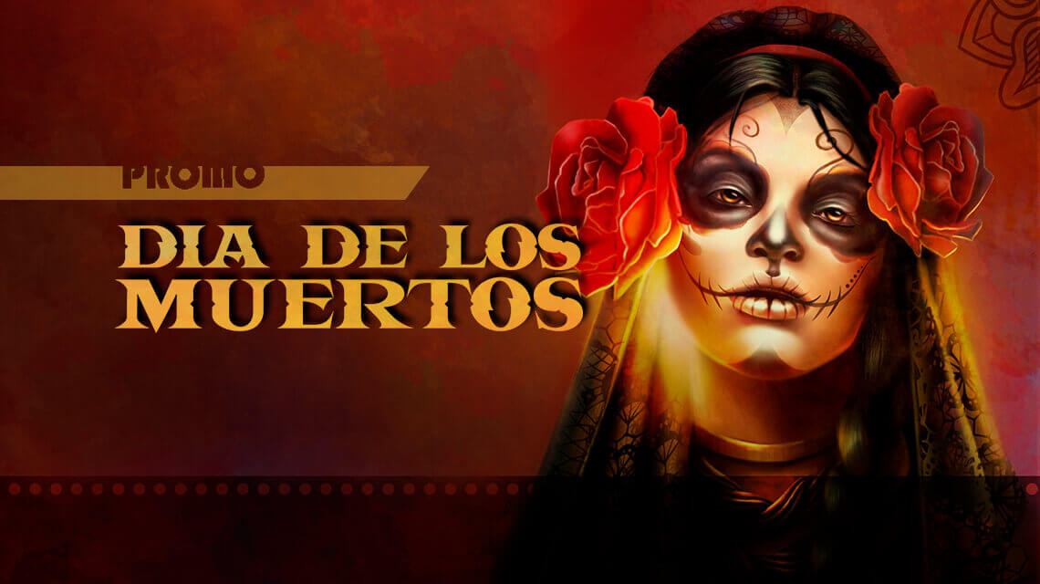 Mexican Party and Special Promo in New Dia de los Muertos Slot from Endorphina