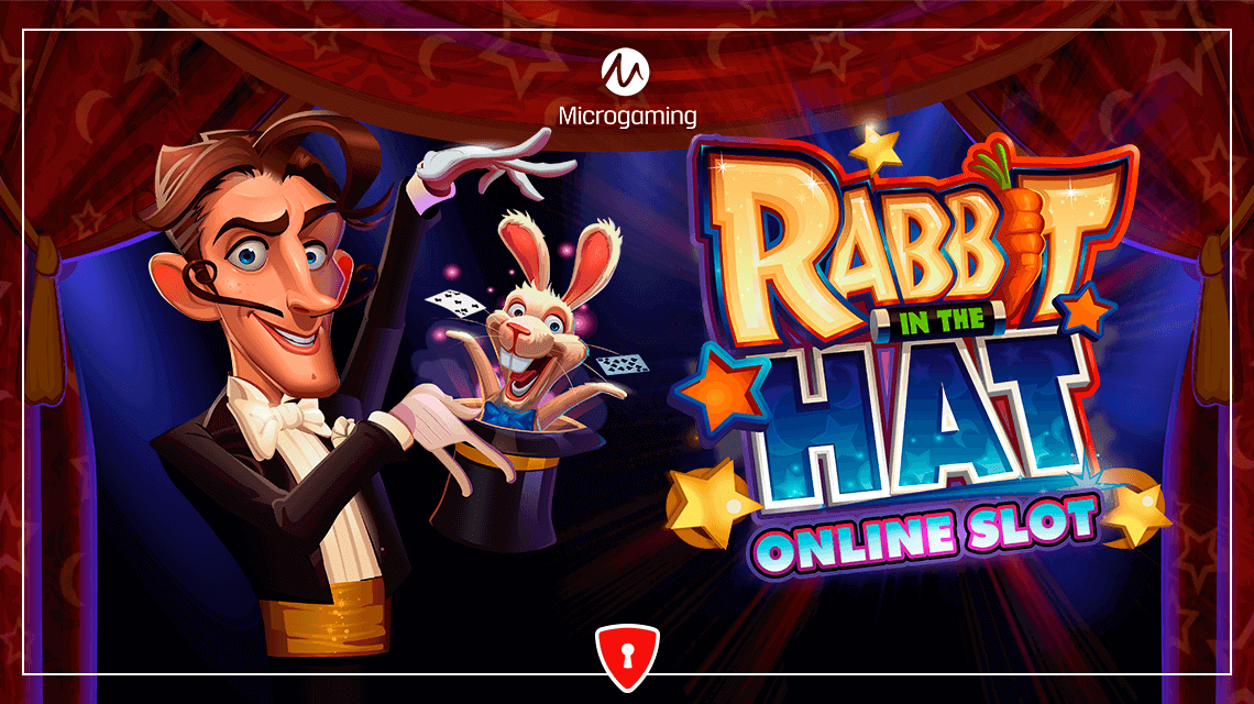 Players Will Fall Under Microgaming's Spell in Their New Slot, Rabbit in the Hat
