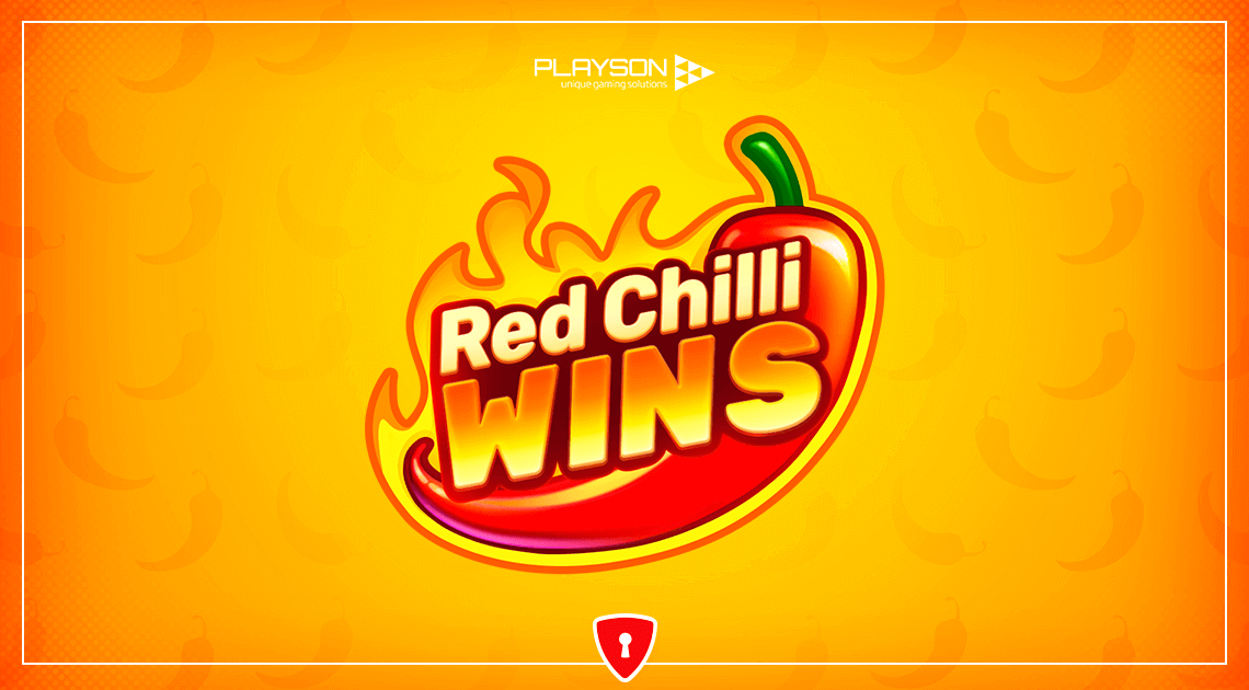 New Game From Playson: Red Chilli Wins