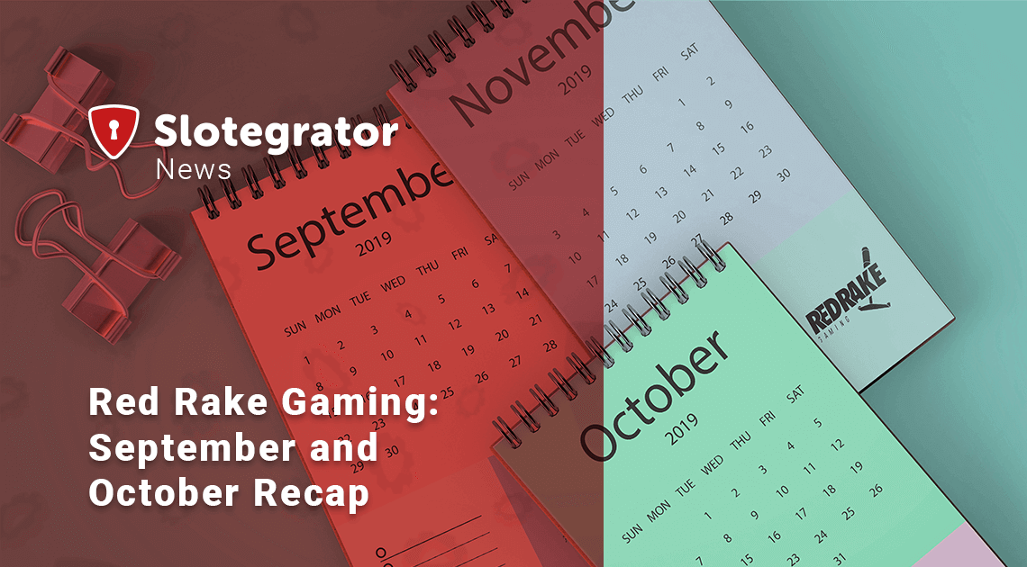 Red Rake Gaming: September and October Recap