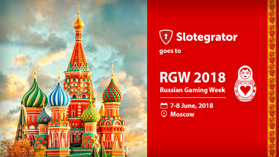 Slotegrator is to visit RGW 2018