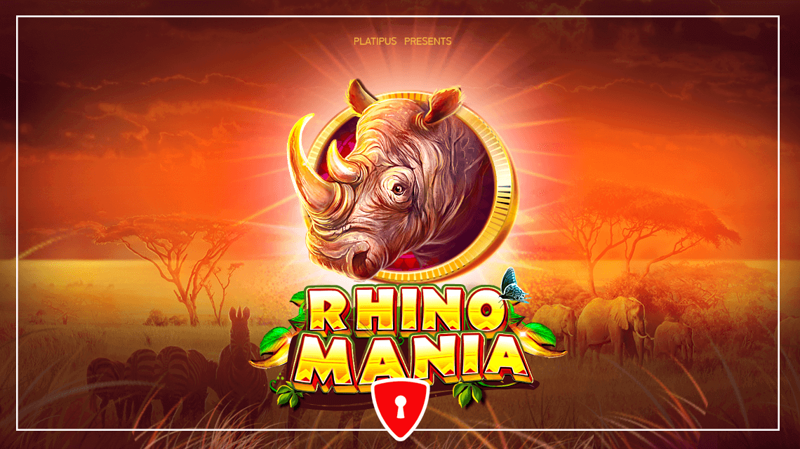 Gamblers Are Invited to Discover Wildlife in Platipus' New Slot Rhino Mania