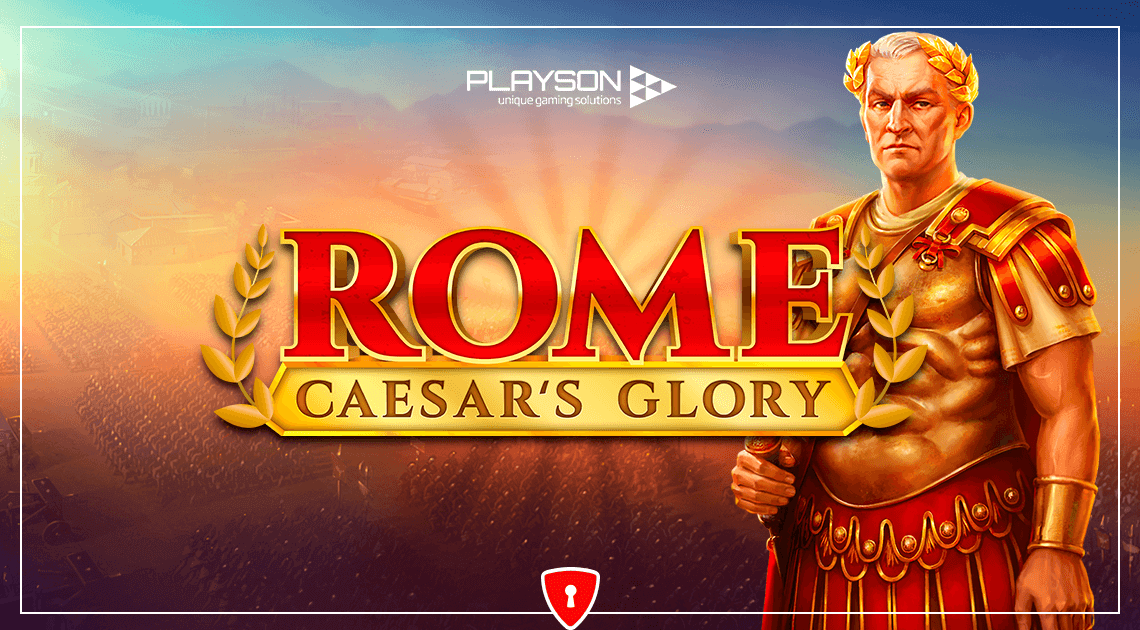 New Game From Playson: Rome: Caesar's Glory