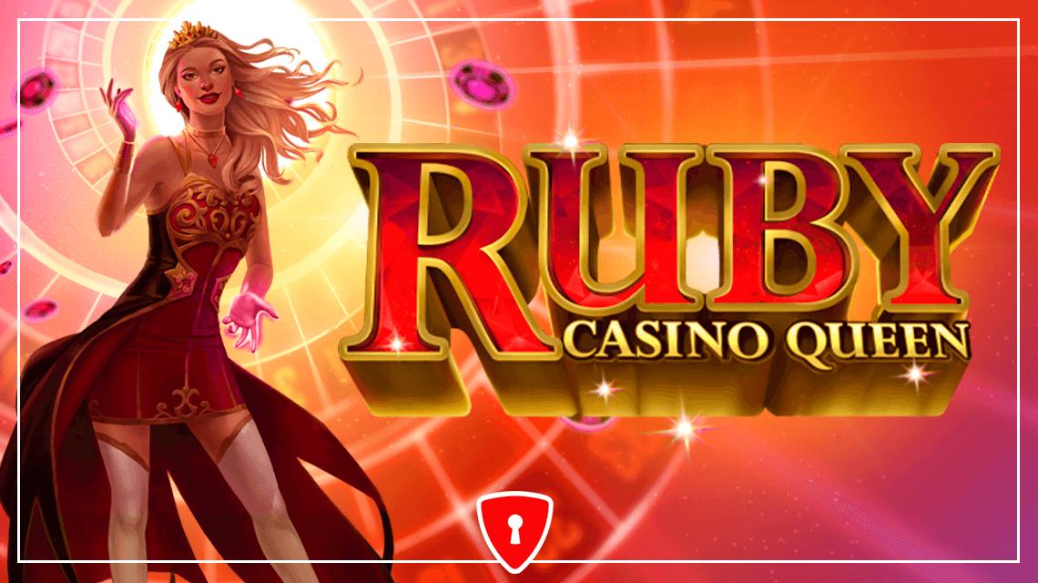 Новая игра от Just For The Win - Ruby Casino Queen